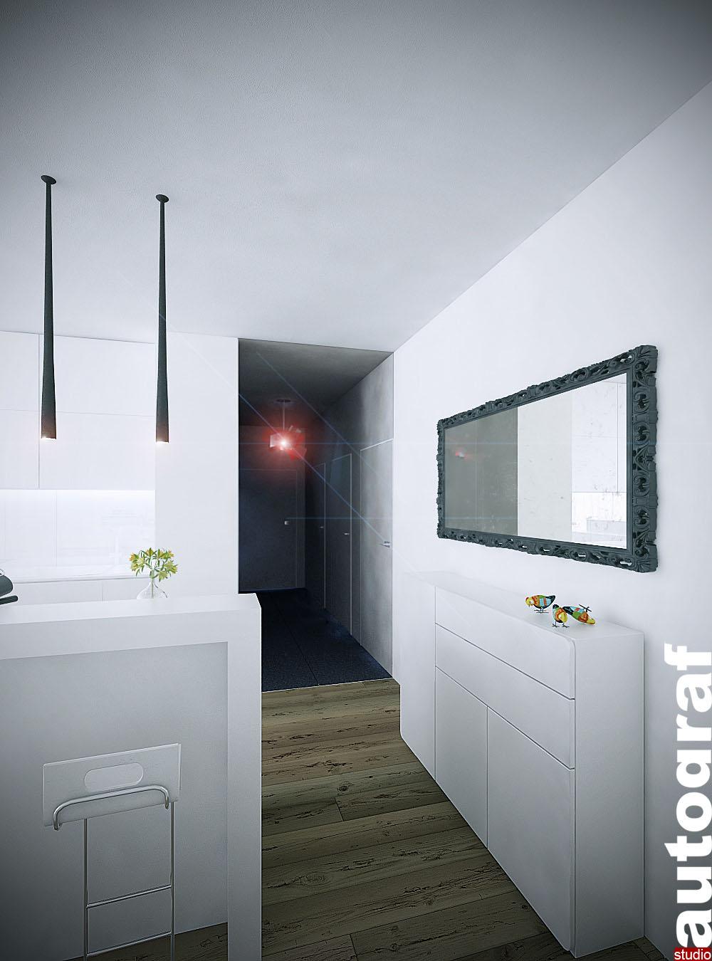 Apartament z widokiem na Wisłę - wizualizacja 3