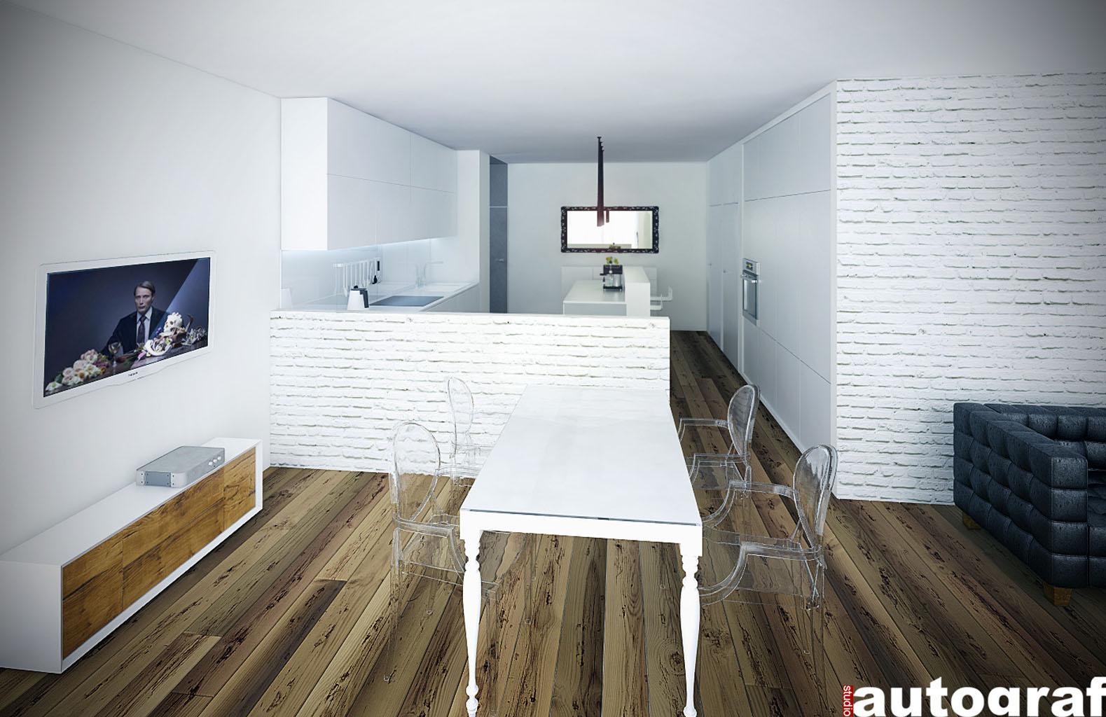 Apartament z widokiem na Wisłę - wizualizacja 4