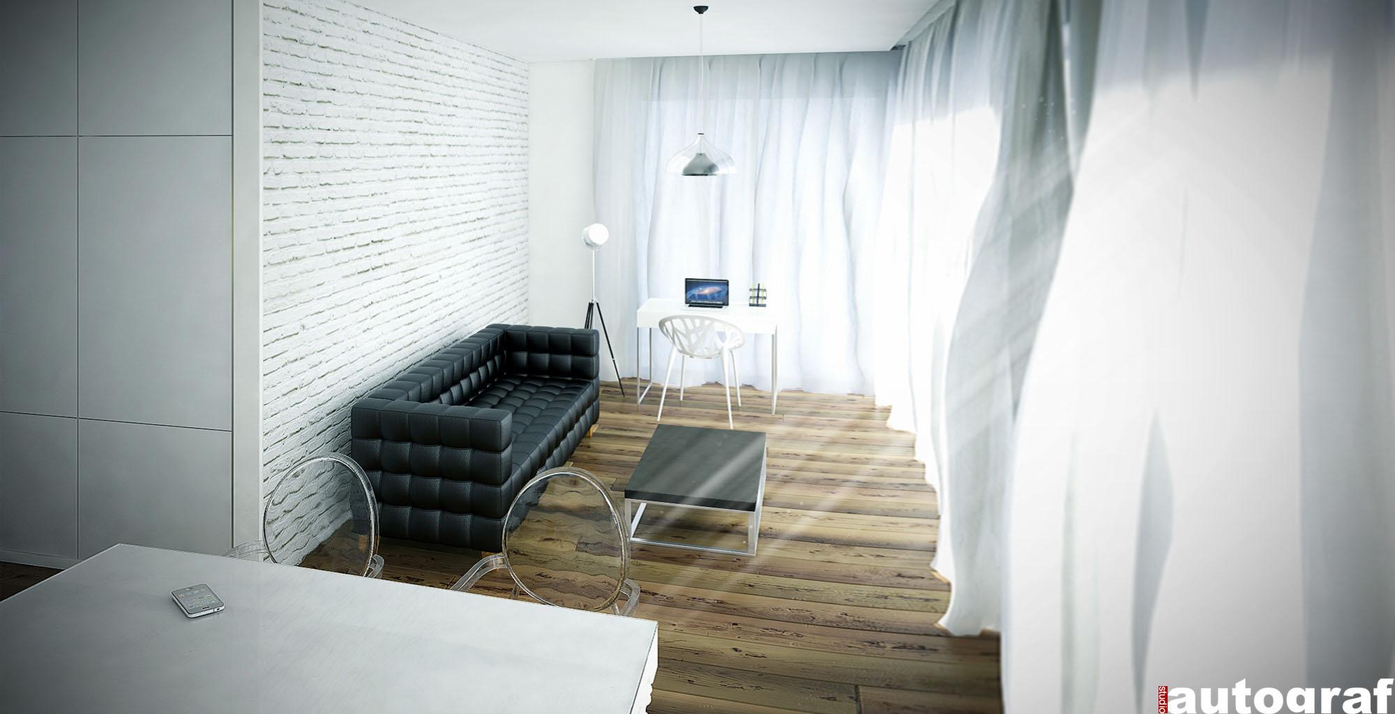 Apartament z widokiem na Wisłę - wizualizacja 5