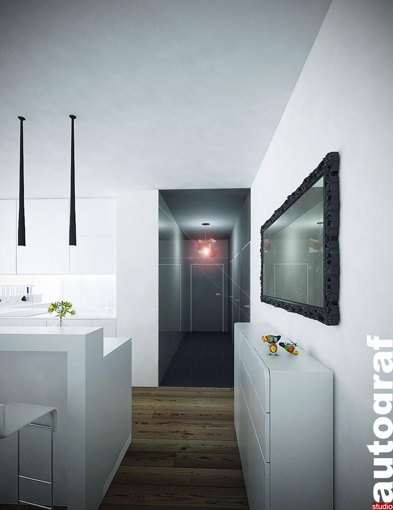 Apartament z widokiem na Wisłę - wizualizacja 7