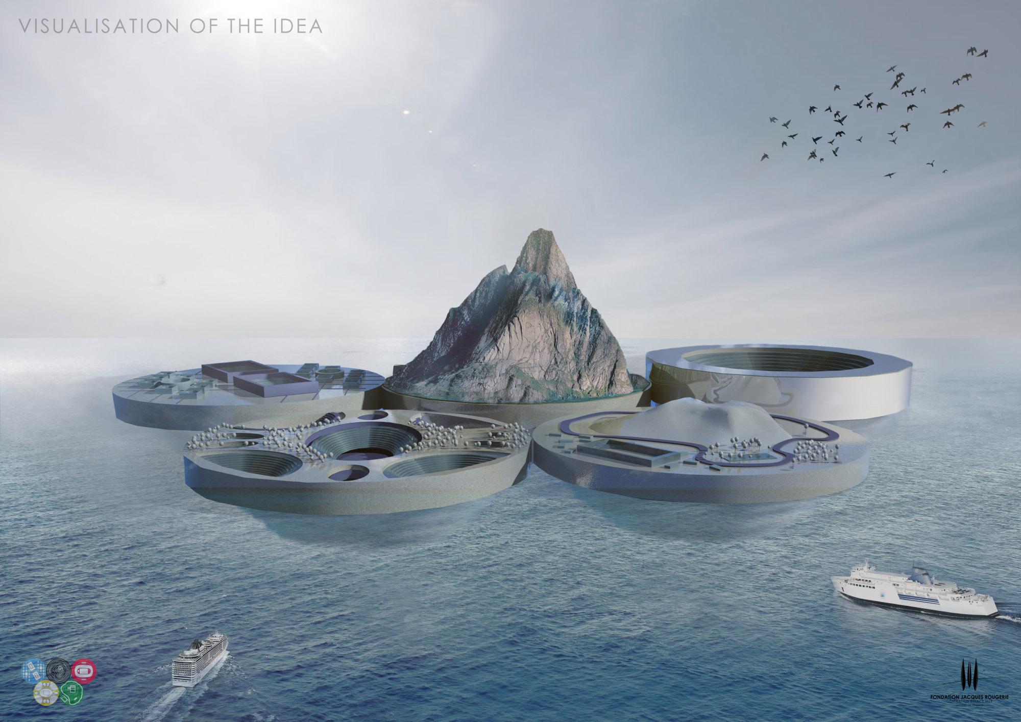 Olympic Island – okładka 1