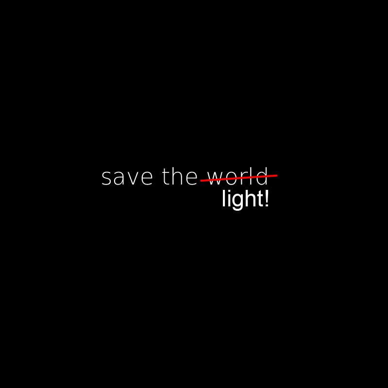 Save the world - okładka