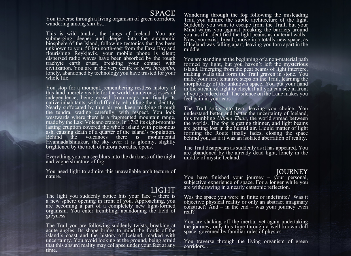 Space Light & Journey - opis