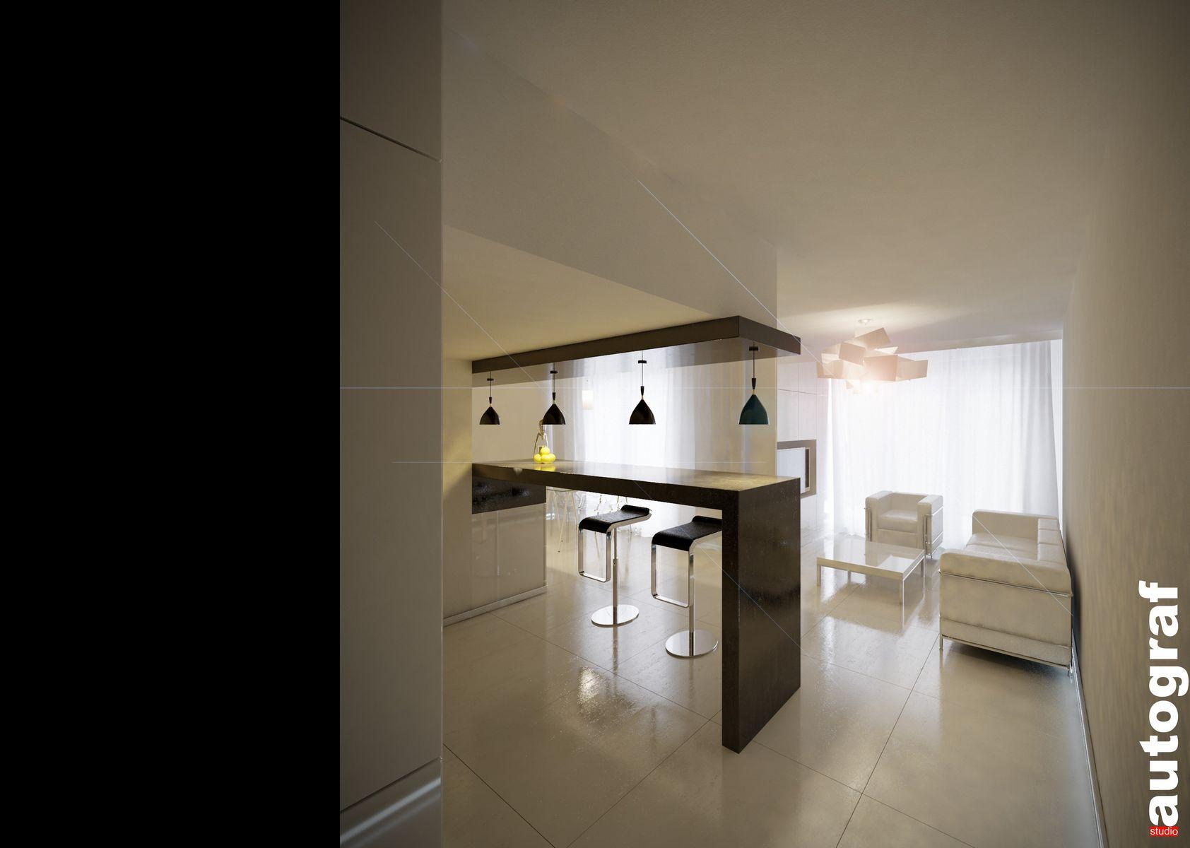 Apartament książąt pomorskich - wizualizacja 1