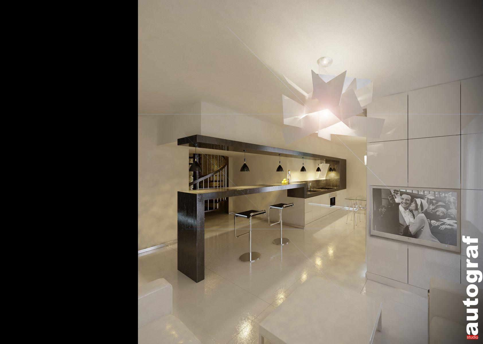 Apartament książąt pomorskich - wizualizacja 2