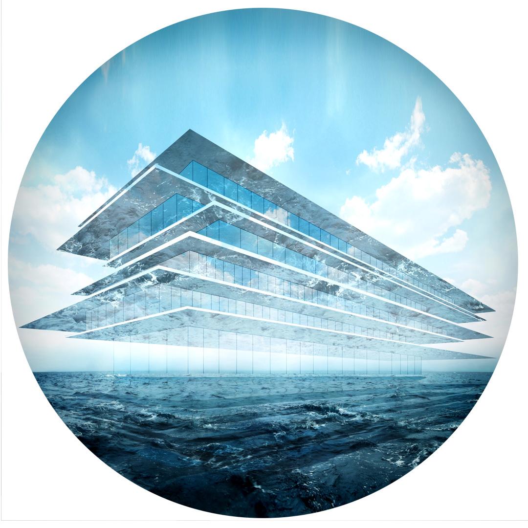 Biuro na wodzie - okładka