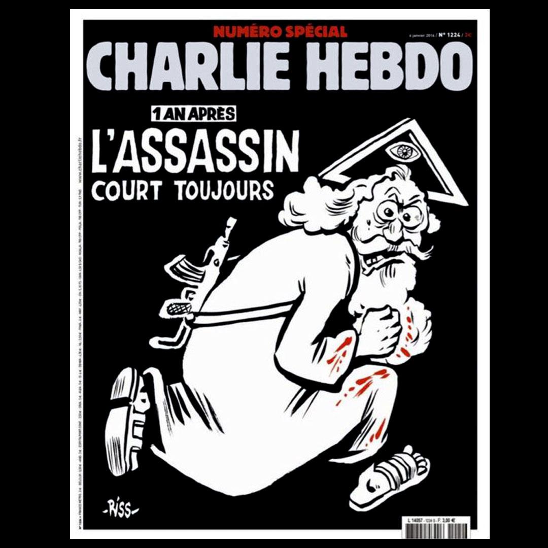 Charlie Hebdo - okładka