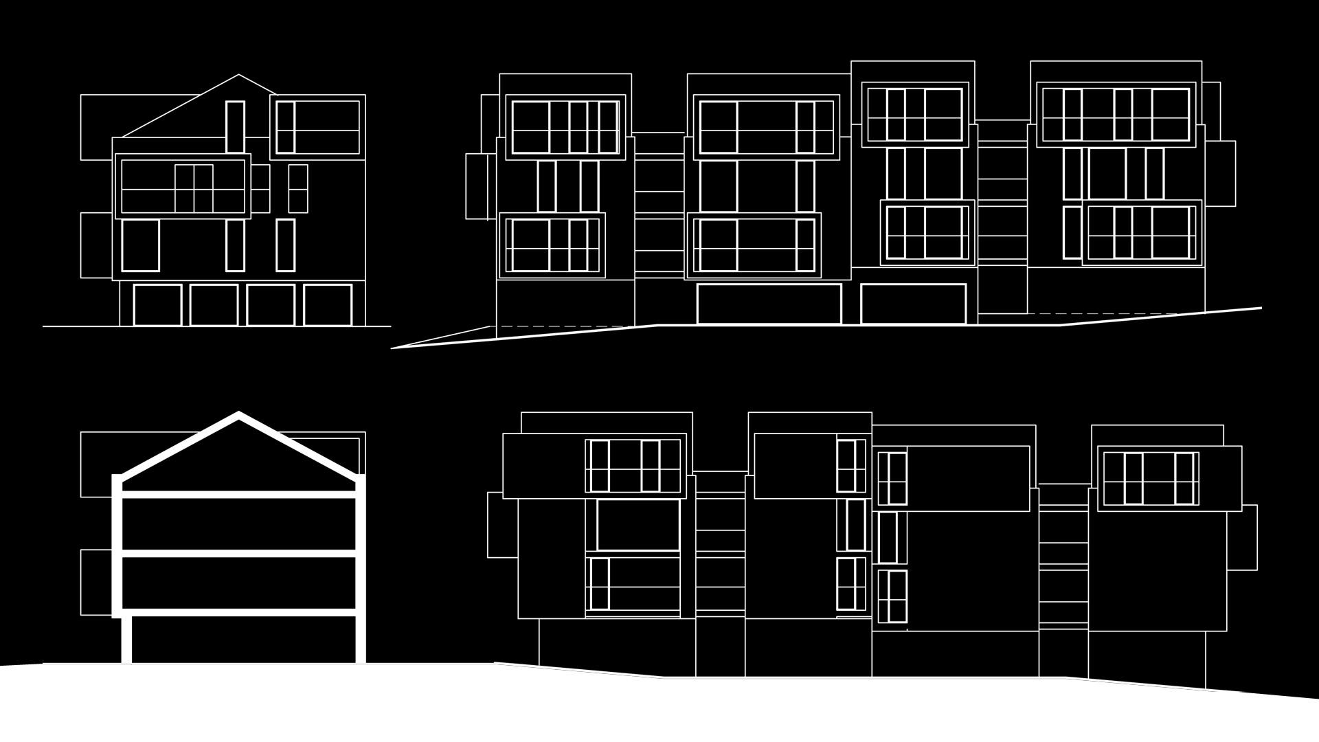 Cubic Apartments - schematy
