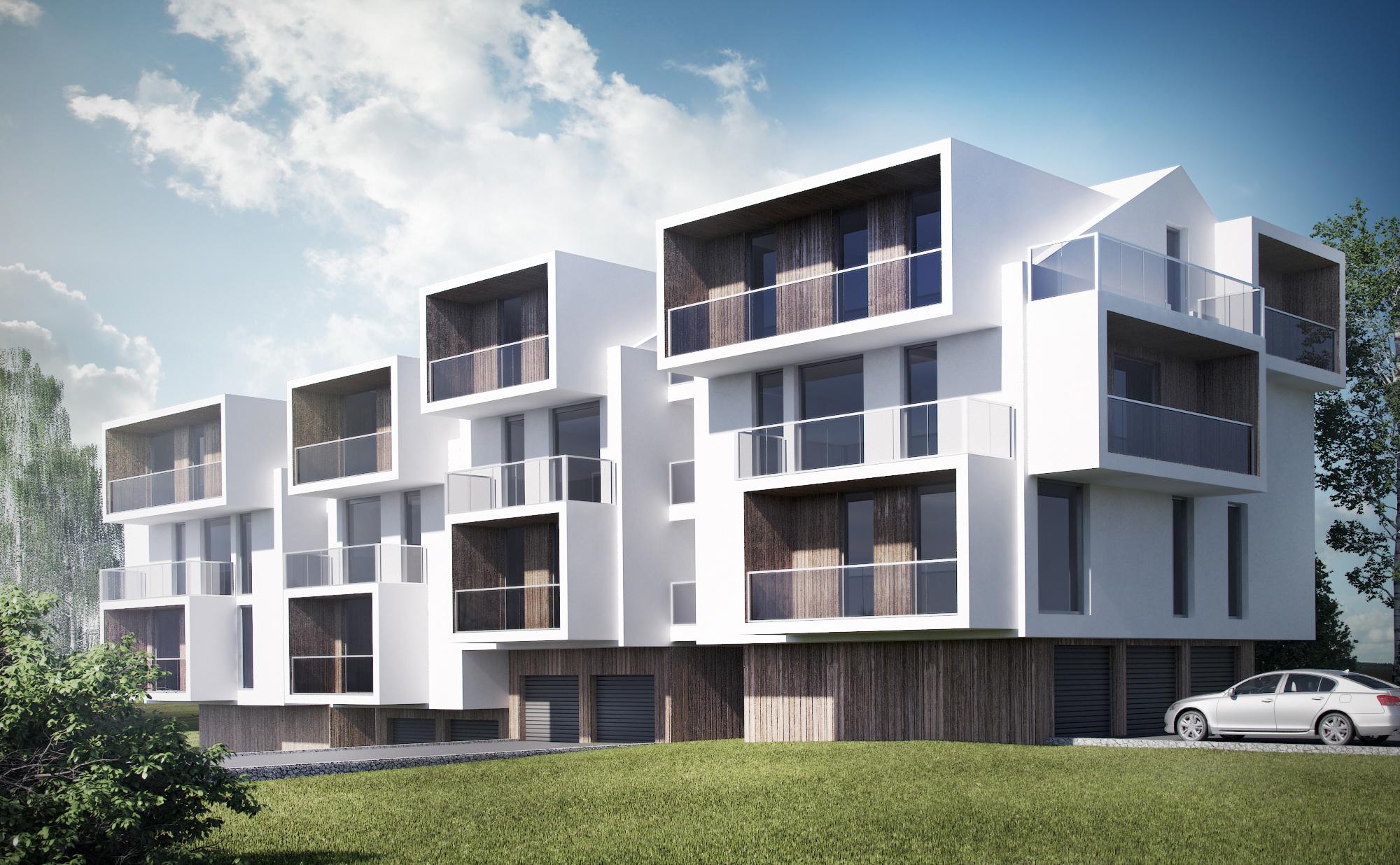 Cubic Apartments - wizualizacja 1
