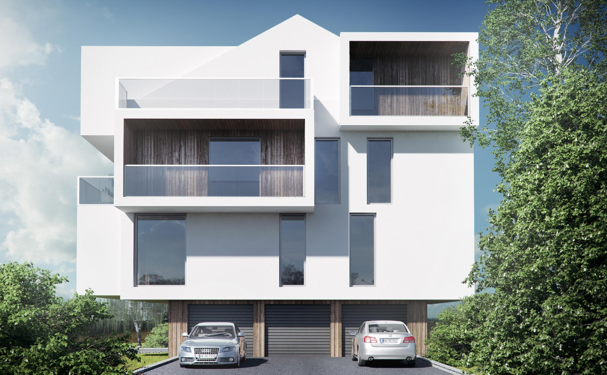 Cubic Apartments - wizualizacja 2
