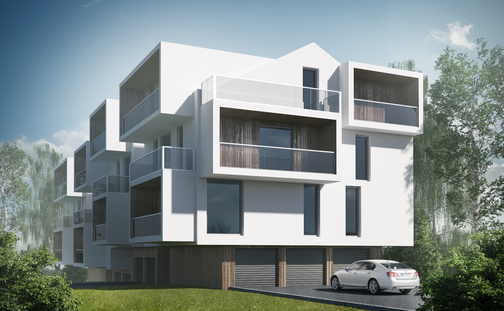 Cubic Apartments - wizualizacja 3