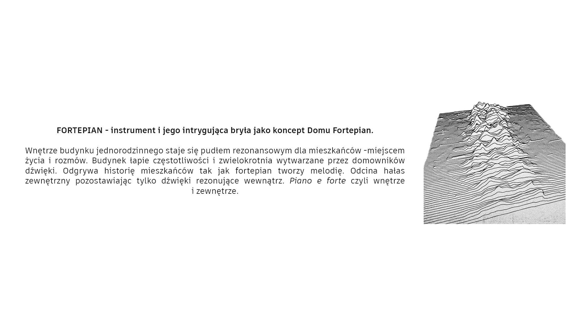 Dom Fortepian - fortepian - instrument i jego intrygująca bryła jako koncept Domu Fortepian