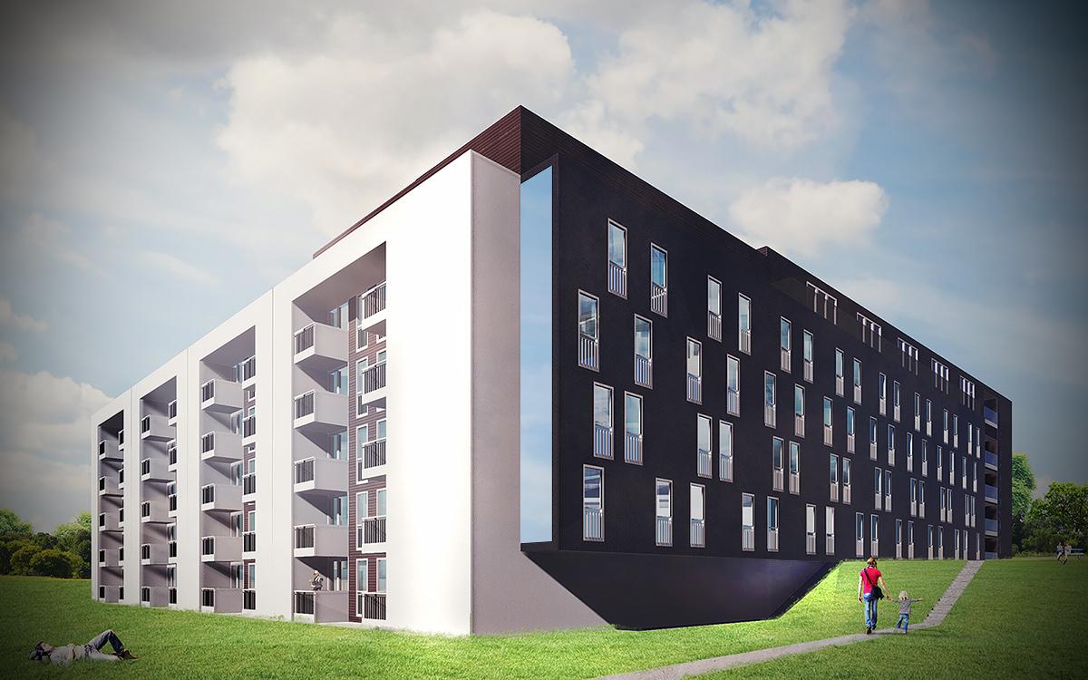 Apartamenty Komfort - wizualizacja 2