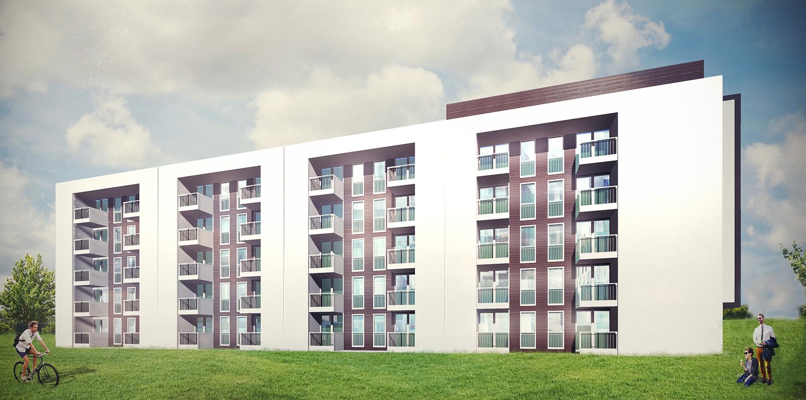 Apartamenty Komfort - wizualizacja 4