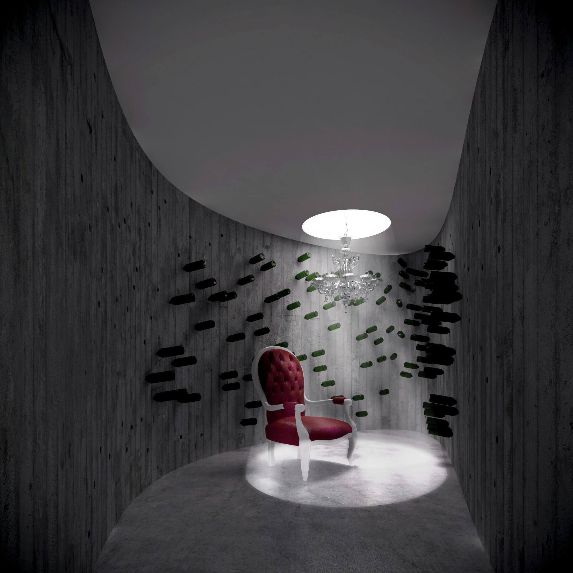 White & Brutal - wizualizacja wnętrza 10