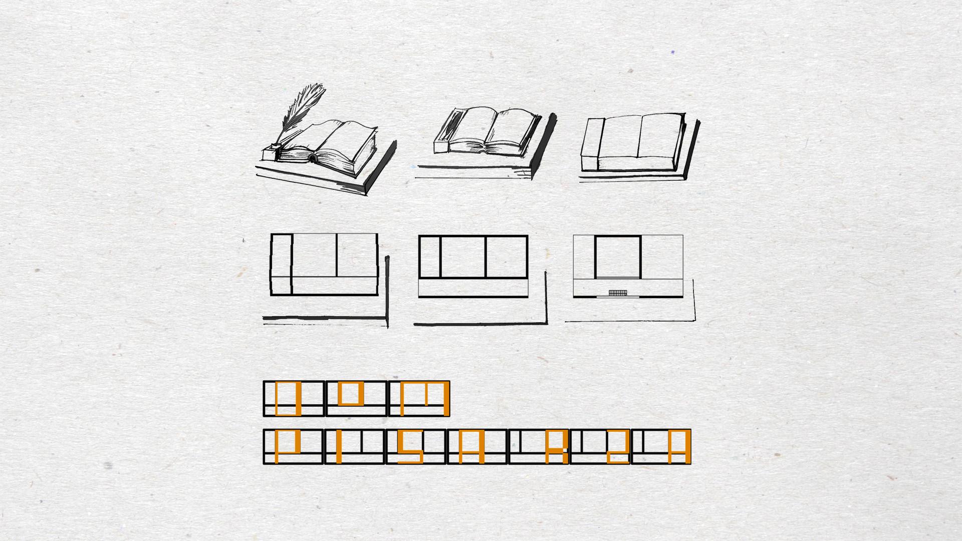 Dom pisarza - schematy 1