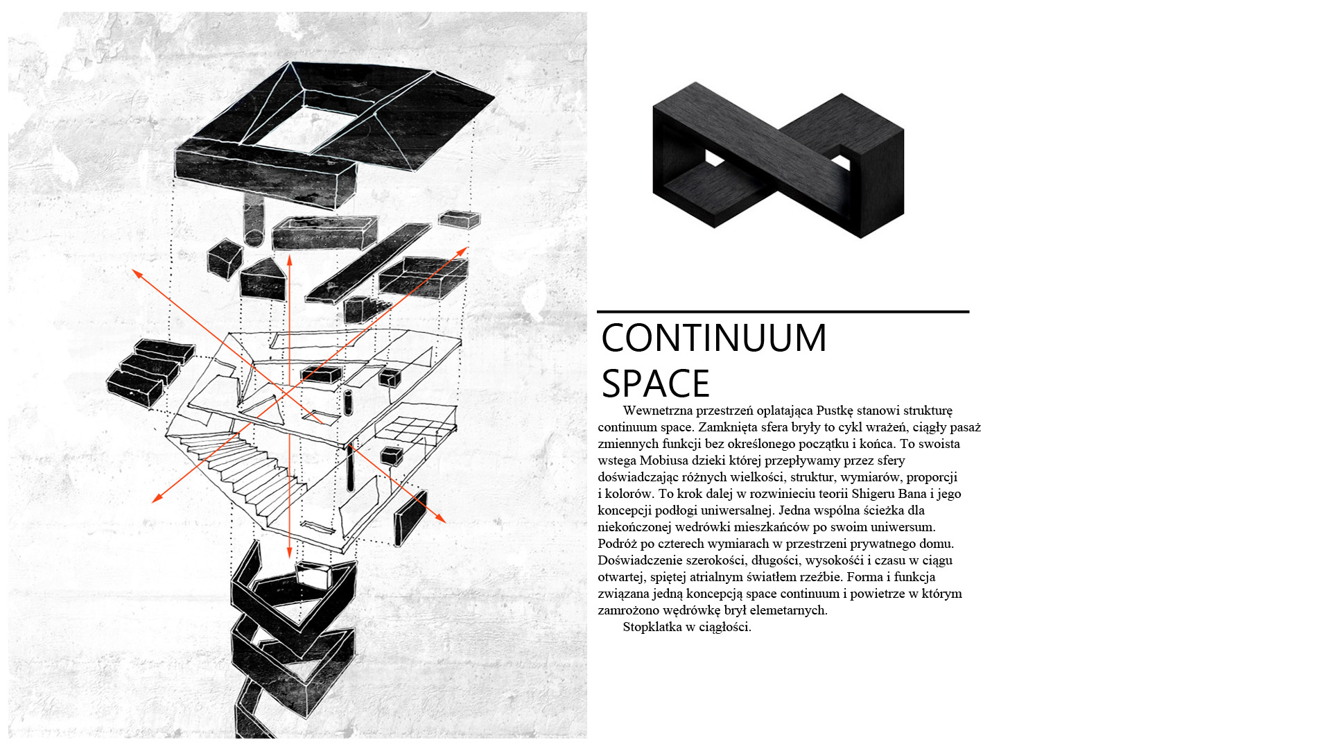 Spiral House - continuum space - opis