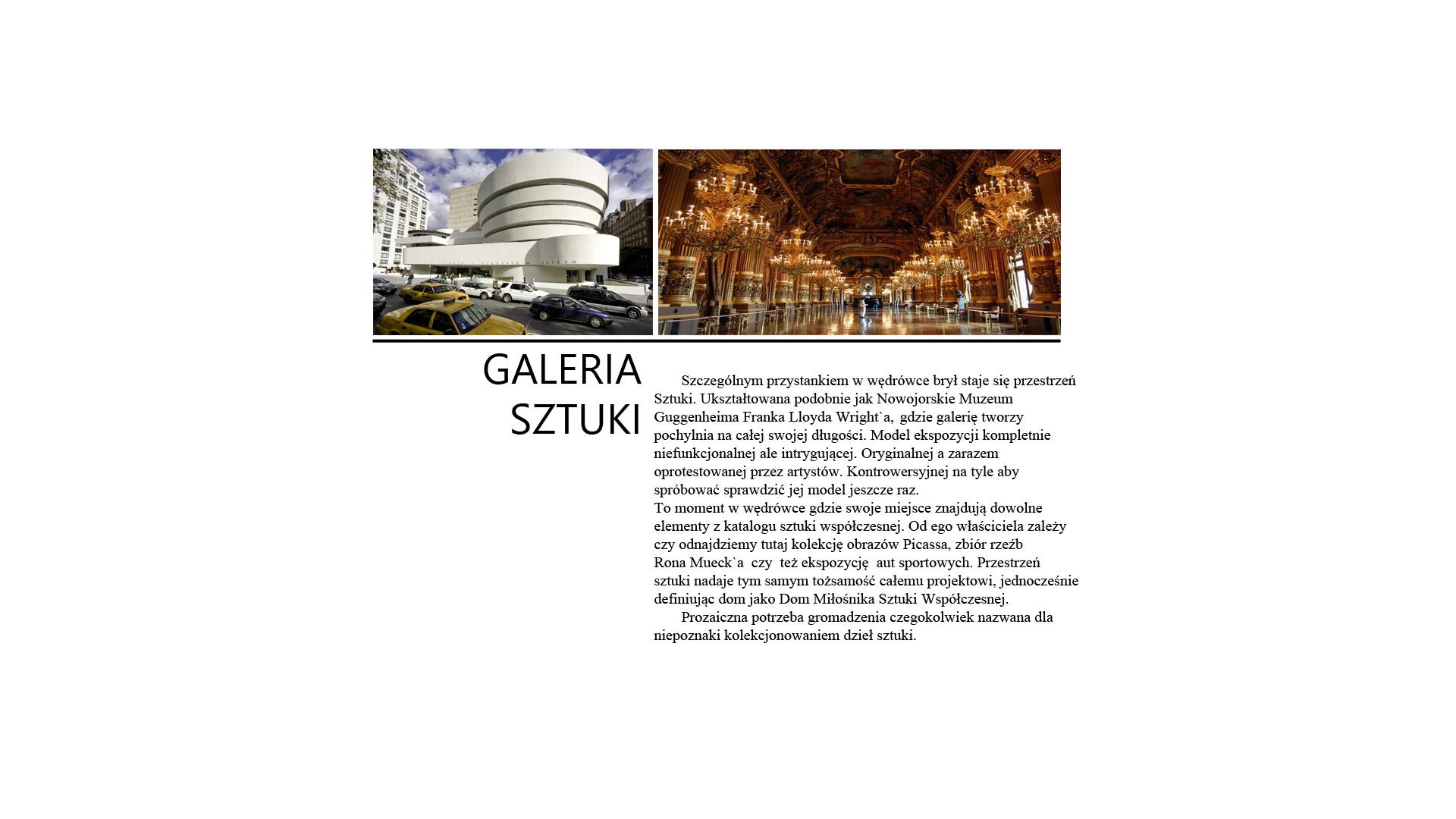 Spiral House - galeria sztuki - opis
