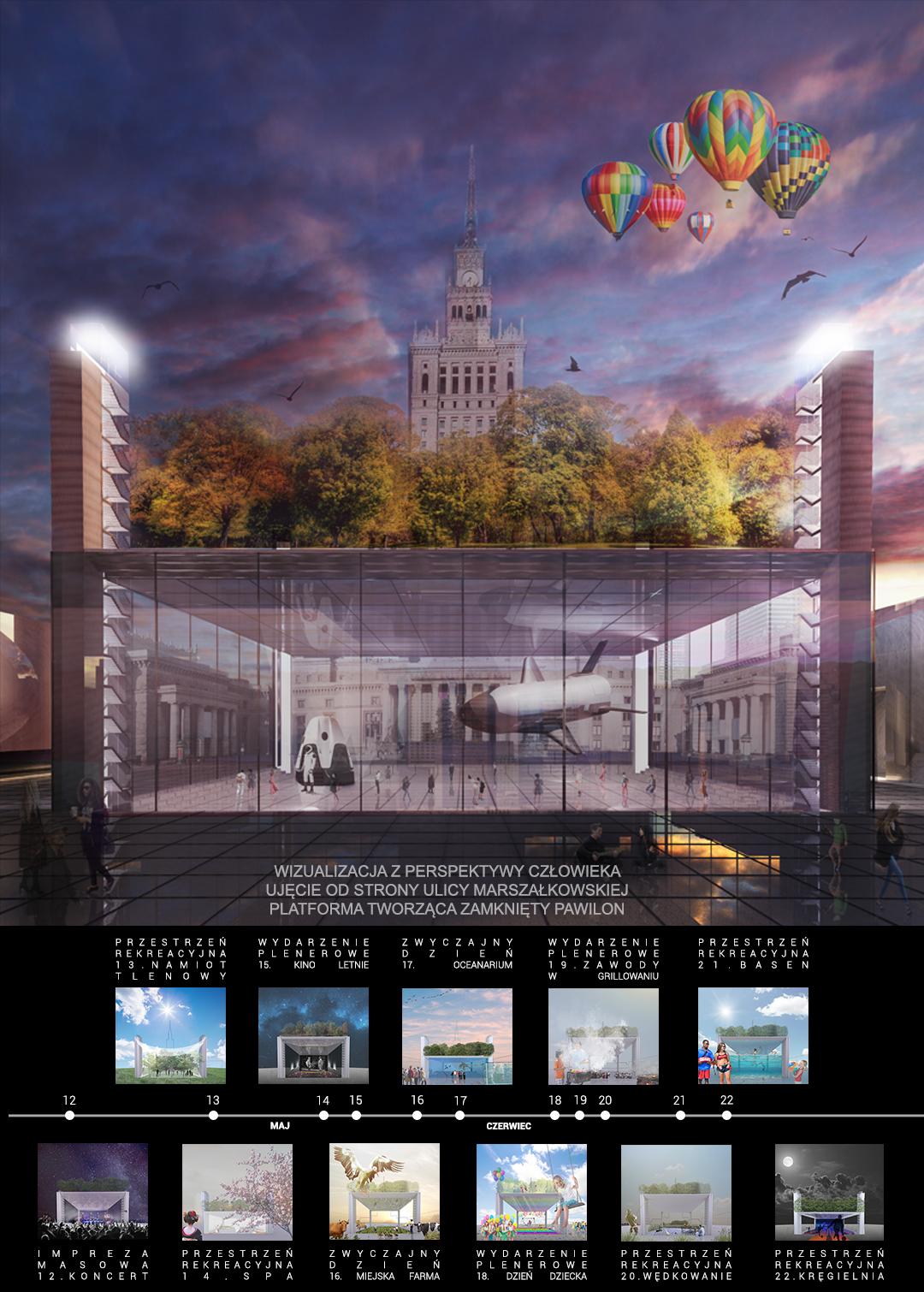 Plac Centralny - wizualizacja 2
