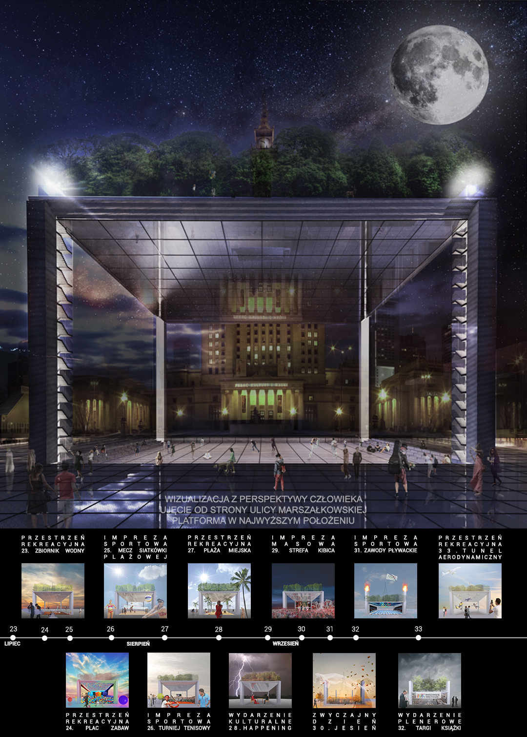 Plac Centralny - wizualizacja 3