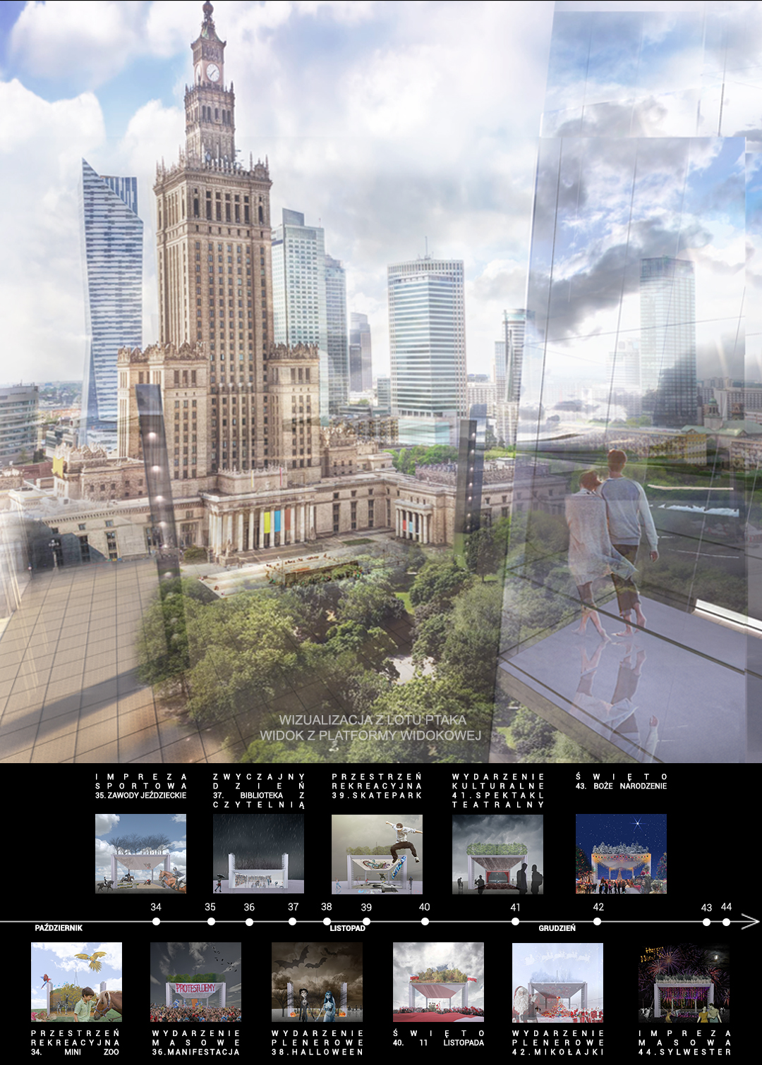Plac Centralny - wizualizacja 4