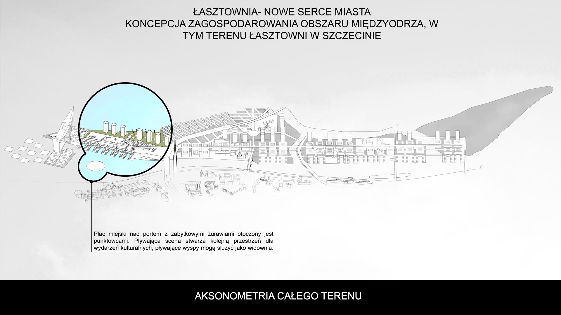 Nowe Serce Miasta - aksonometria 3
