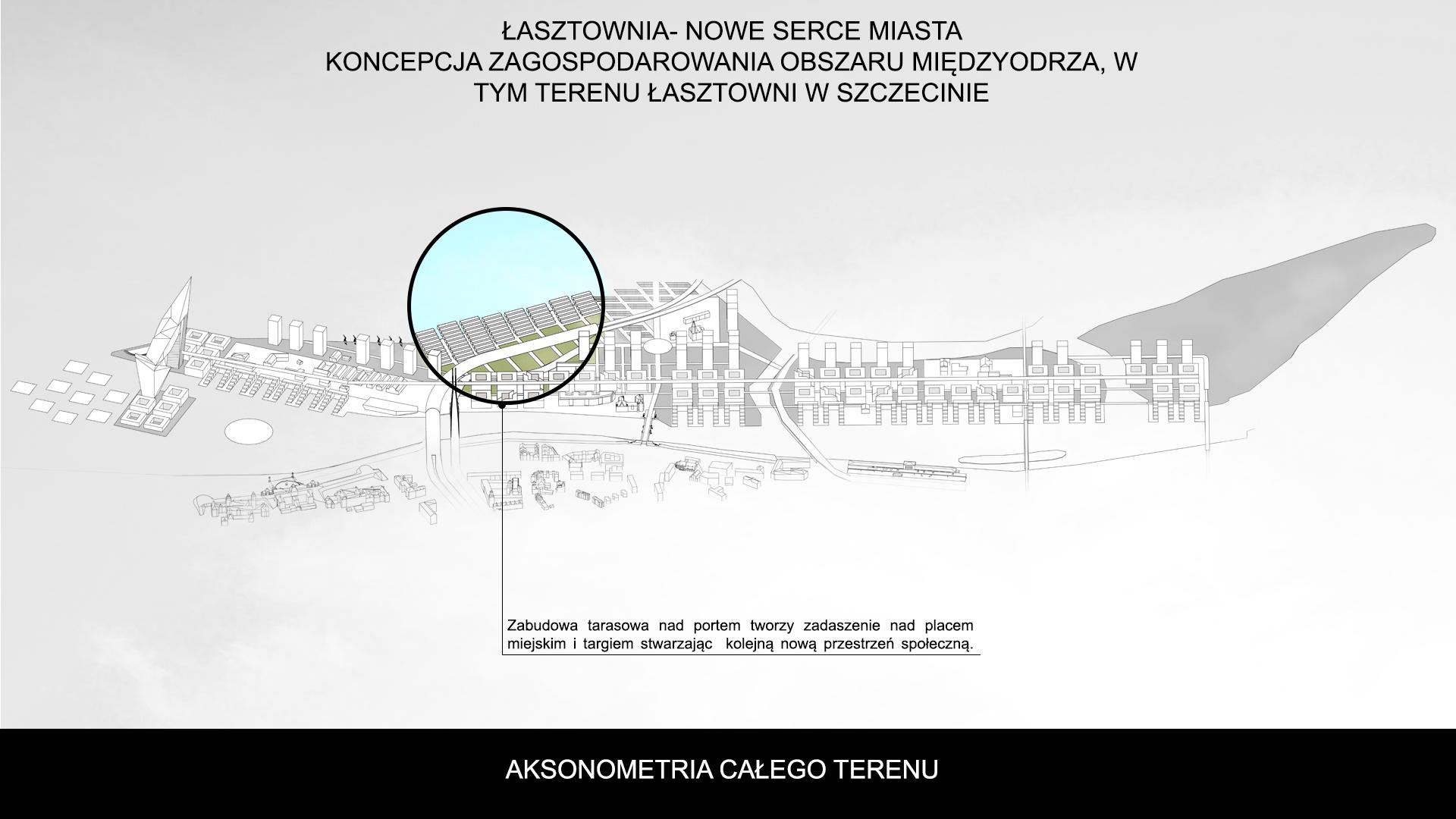 Nowe Serce Miasta - aksonometria 4