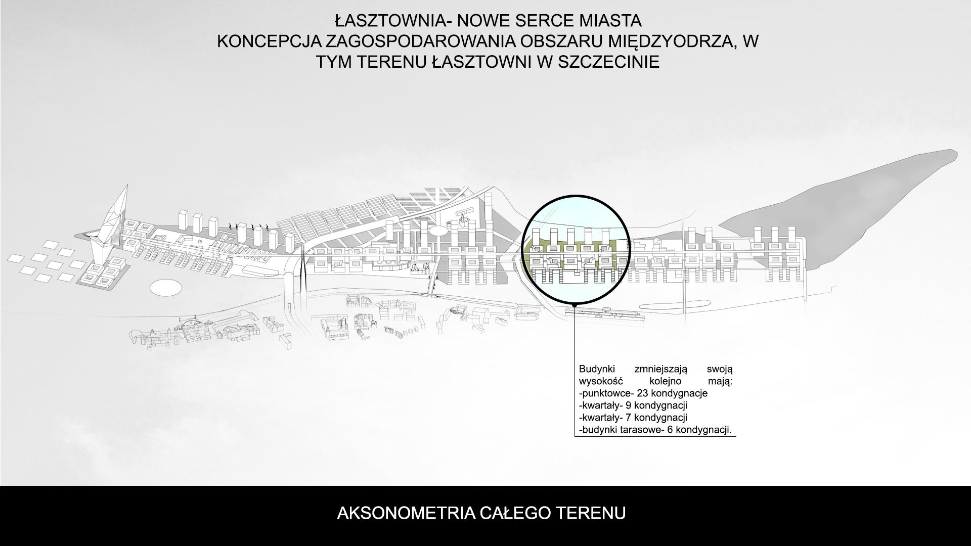 Nowe Serce Miasta - aksonometria 5