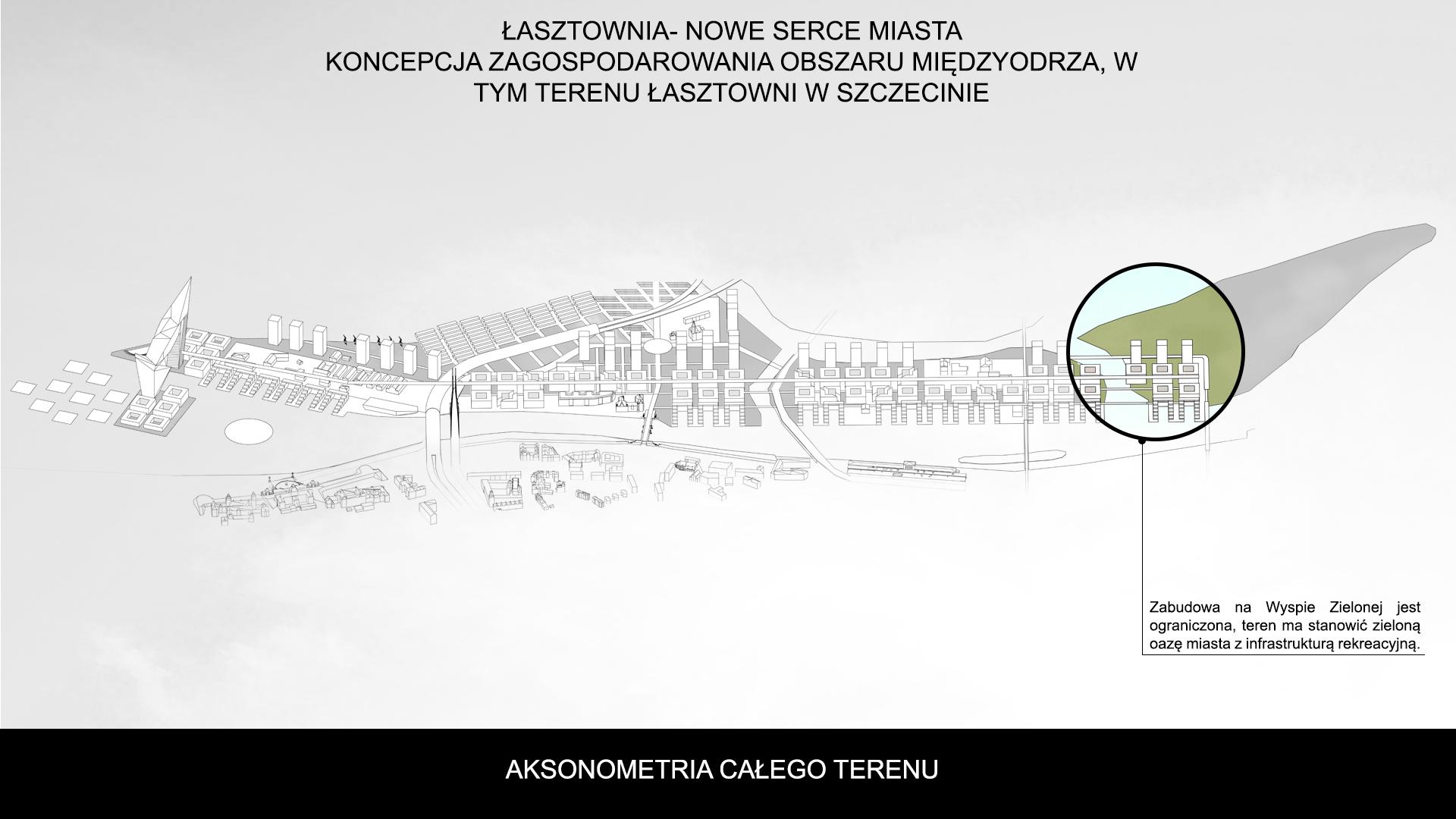 Nowe Serce Miasta - aksonometria 6