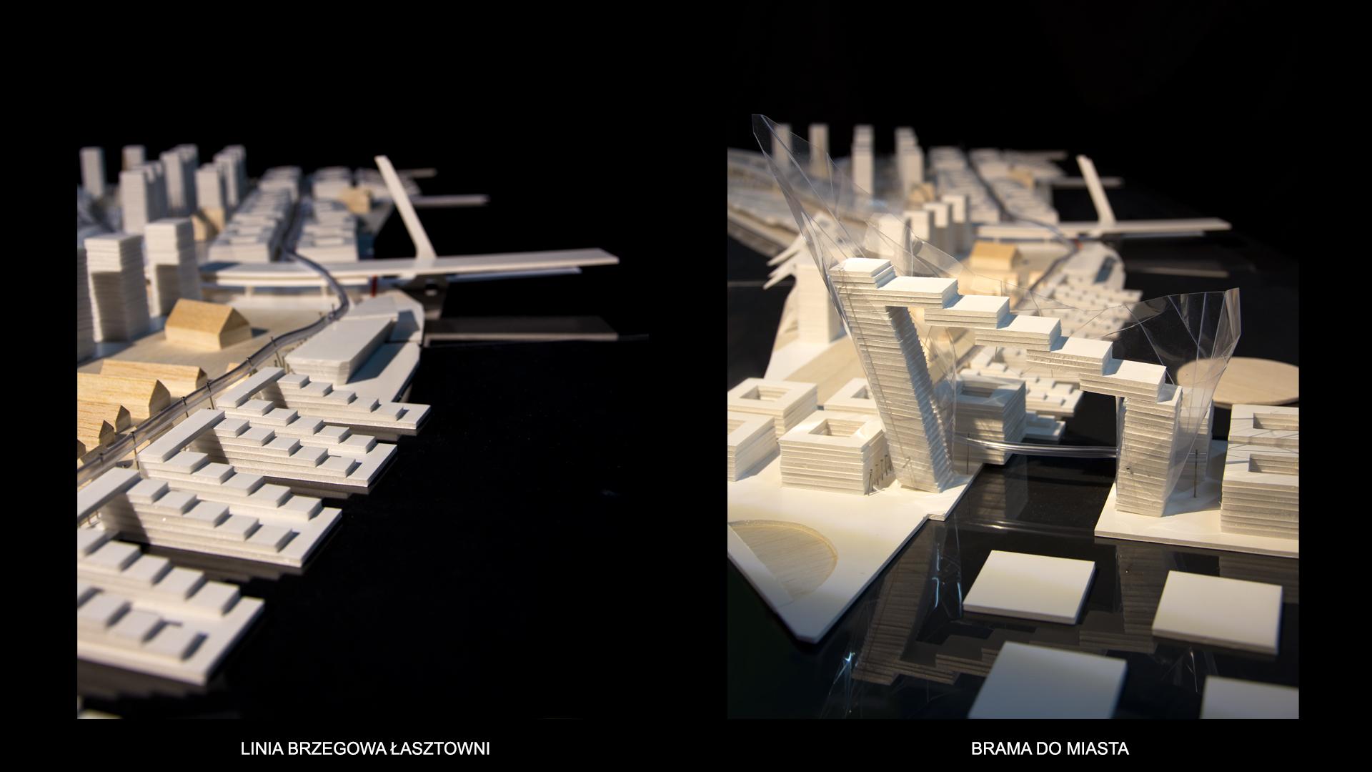 Nowe Serce Miasta - modele 1