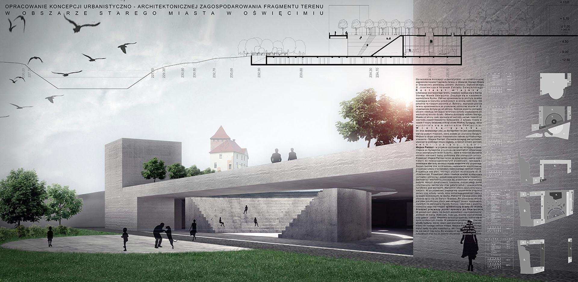 Nowe / Stare Miasto Oświęcim - plansza 1