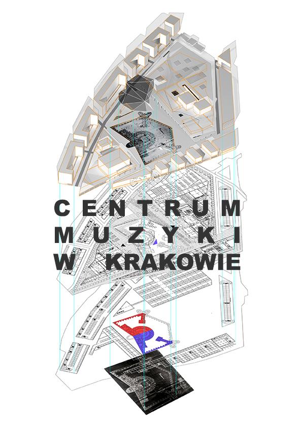 Centrum Muzyki w Krakowie - okładka