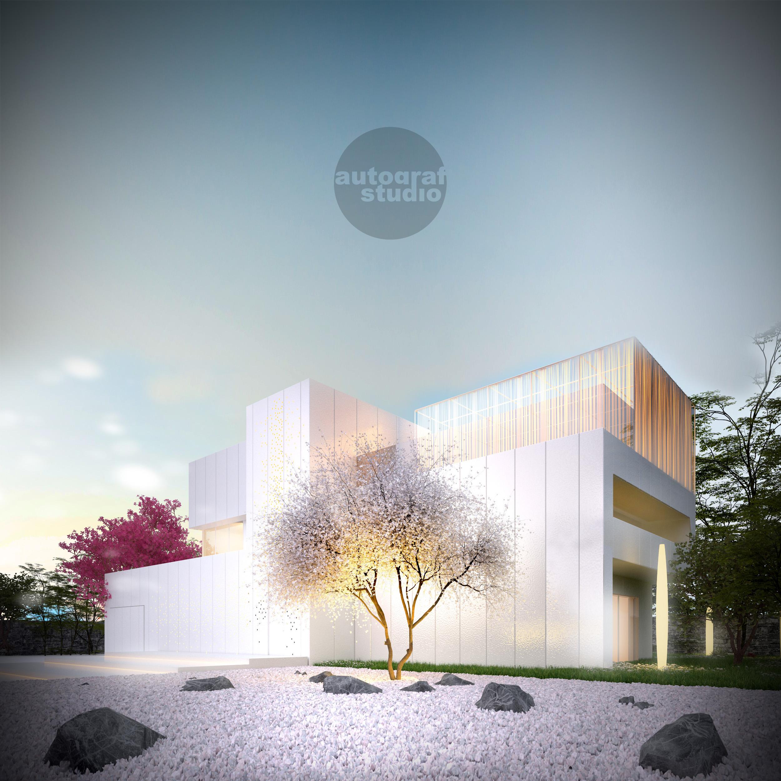 Magnolia House - wizualizacja 1