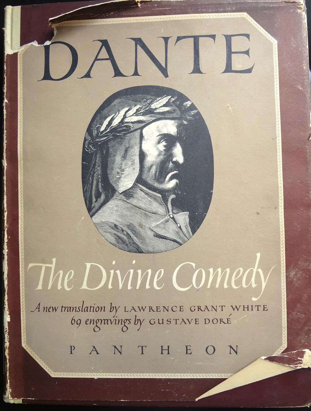 Dekonstrukcja Dantego - okładka
