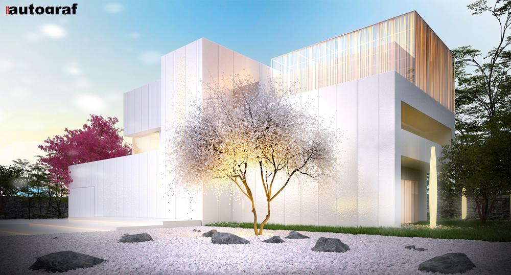 Magnolia House - wizualizacja 2