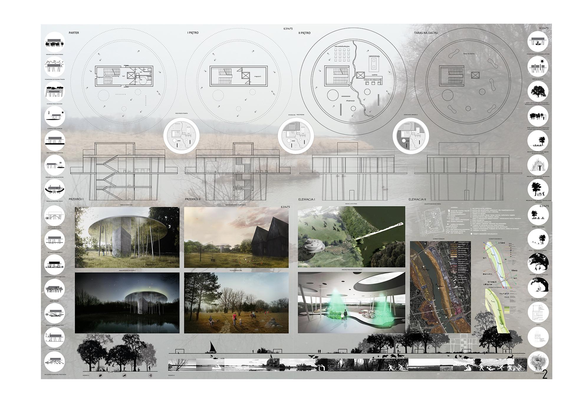 Pawilon edukacyjny - plansza 1