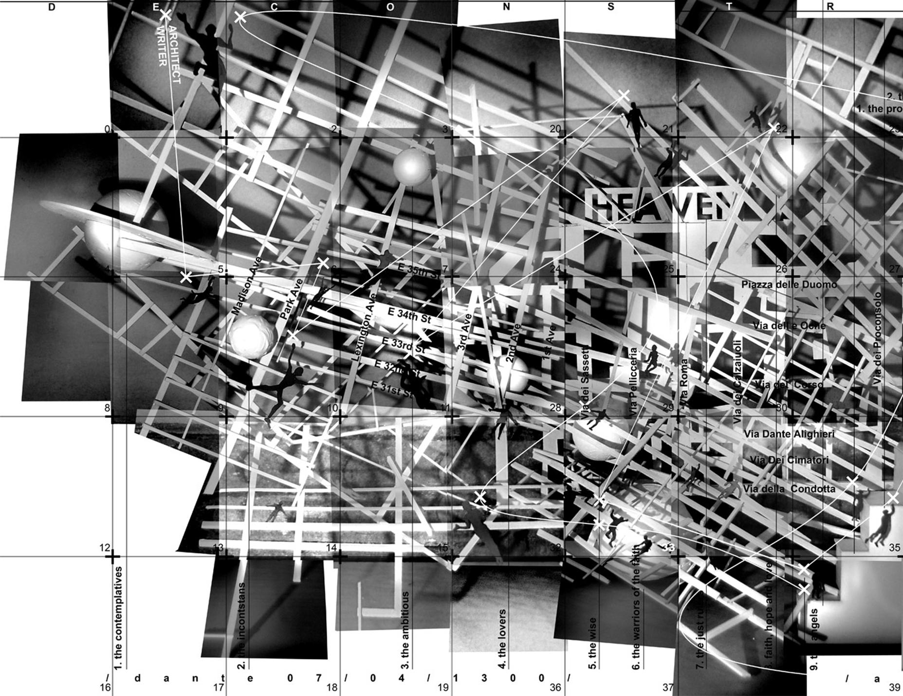 Dekonstrukcja Dantego - plansza 1