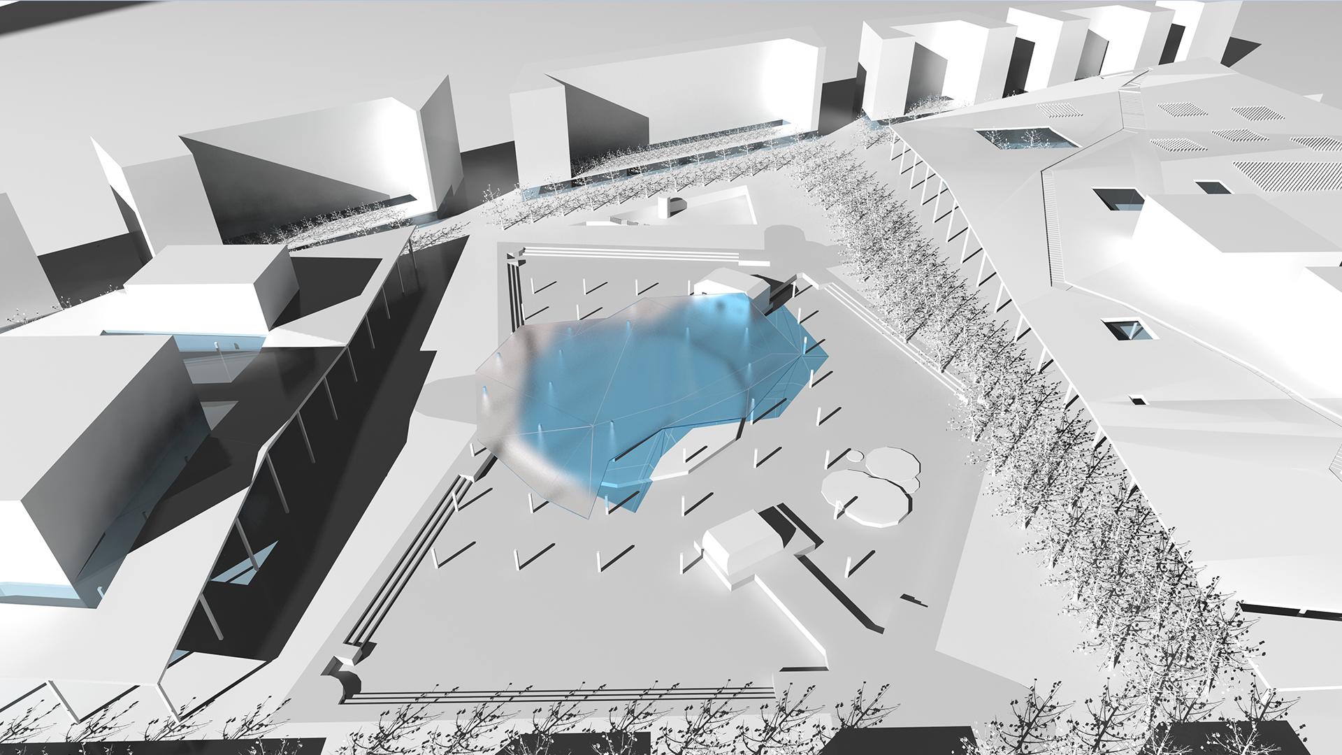 Centrum Muzyki w Krakowie - model 2