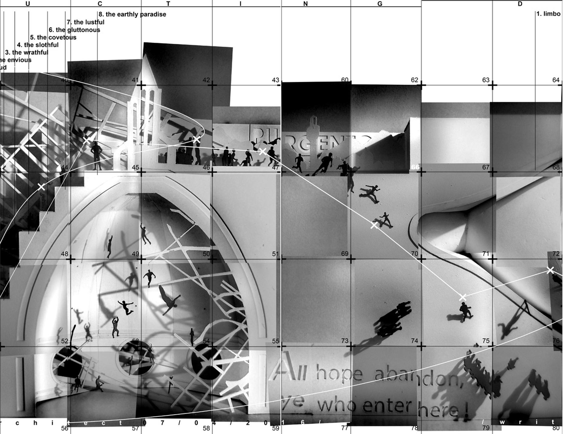 Dekonstrukcja Dantego - plansza 2