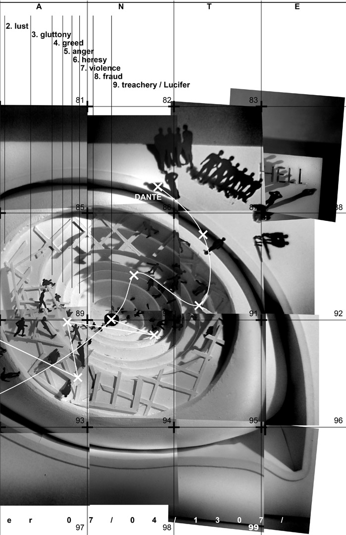 Dekonstrukcja Dantego - plansza 3