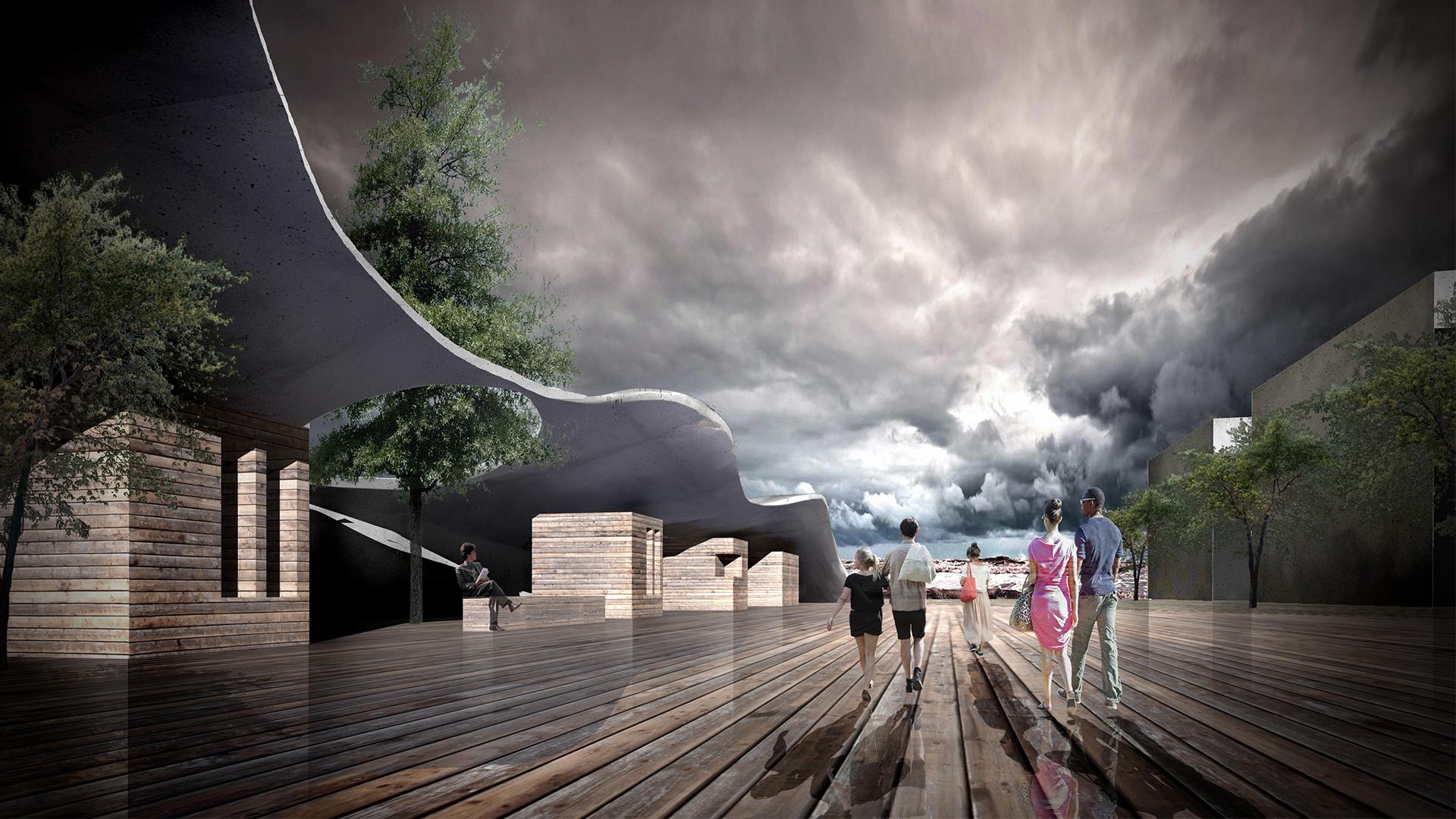 Projekt Kołobrzeg - wizualizacja 4