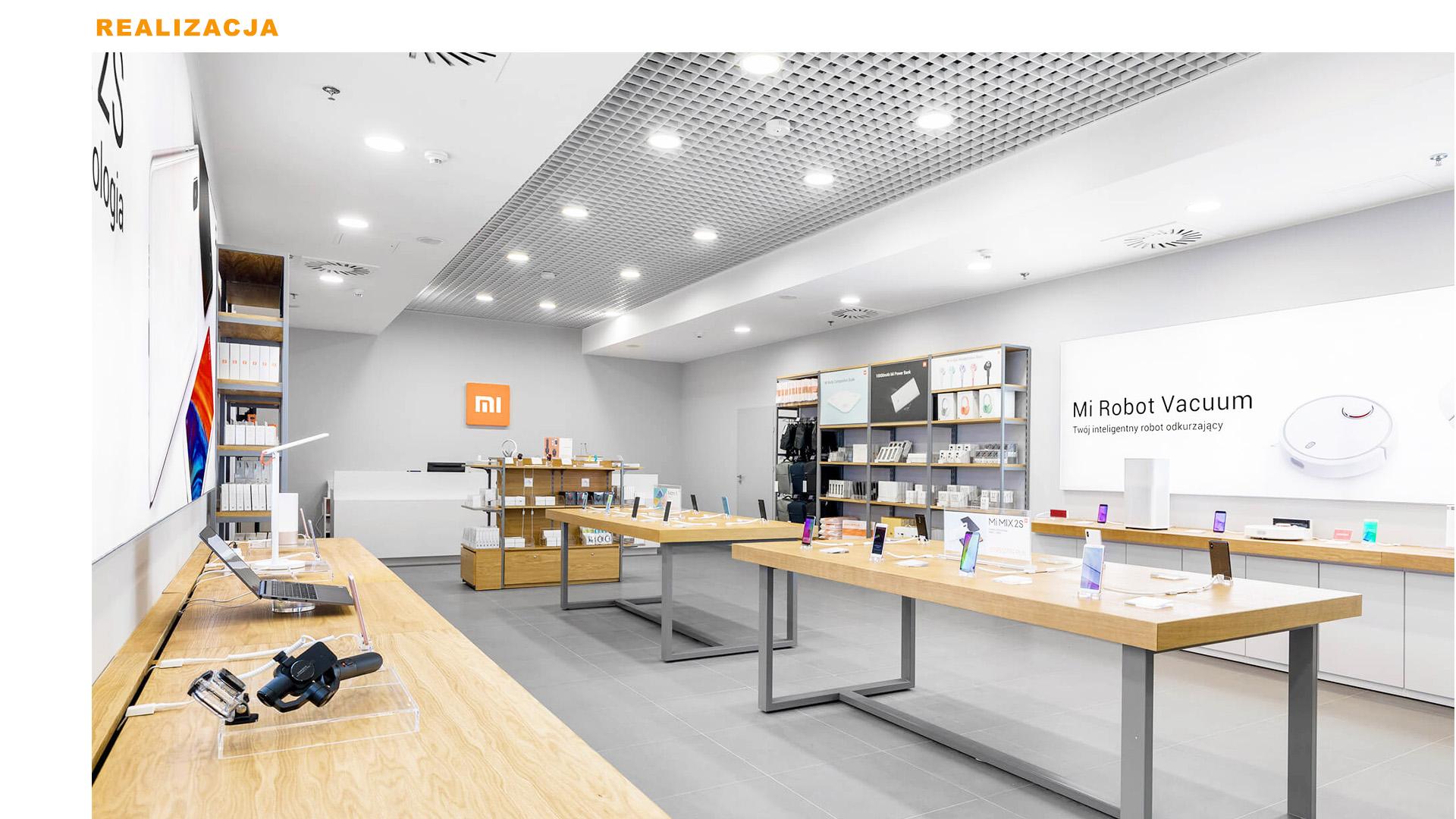Mi-Store - Wrocław - Pasaż Grunwaldzki - realizacja