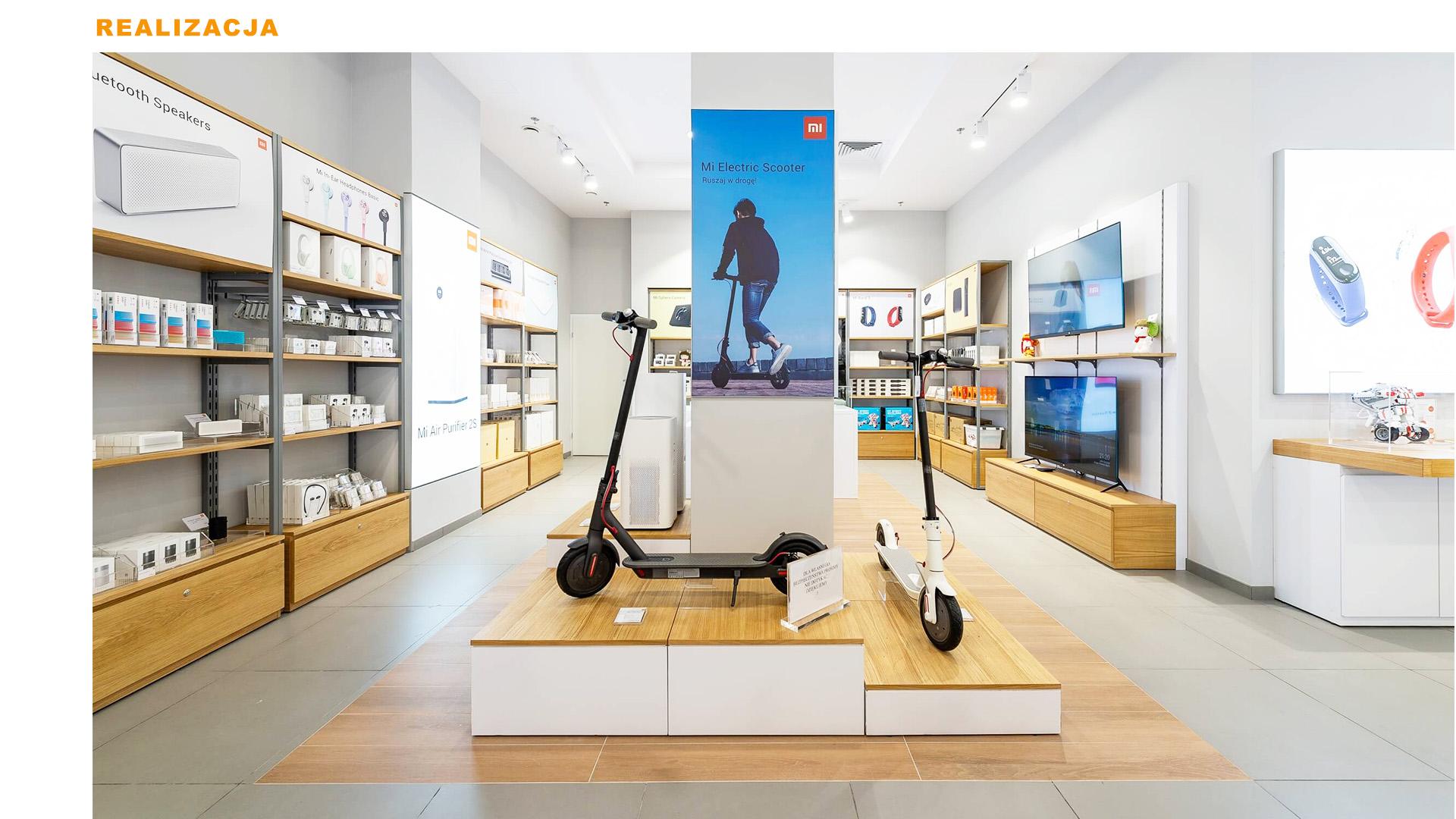 Mi-Store - Poznań - Centrum Posnania - realizacja