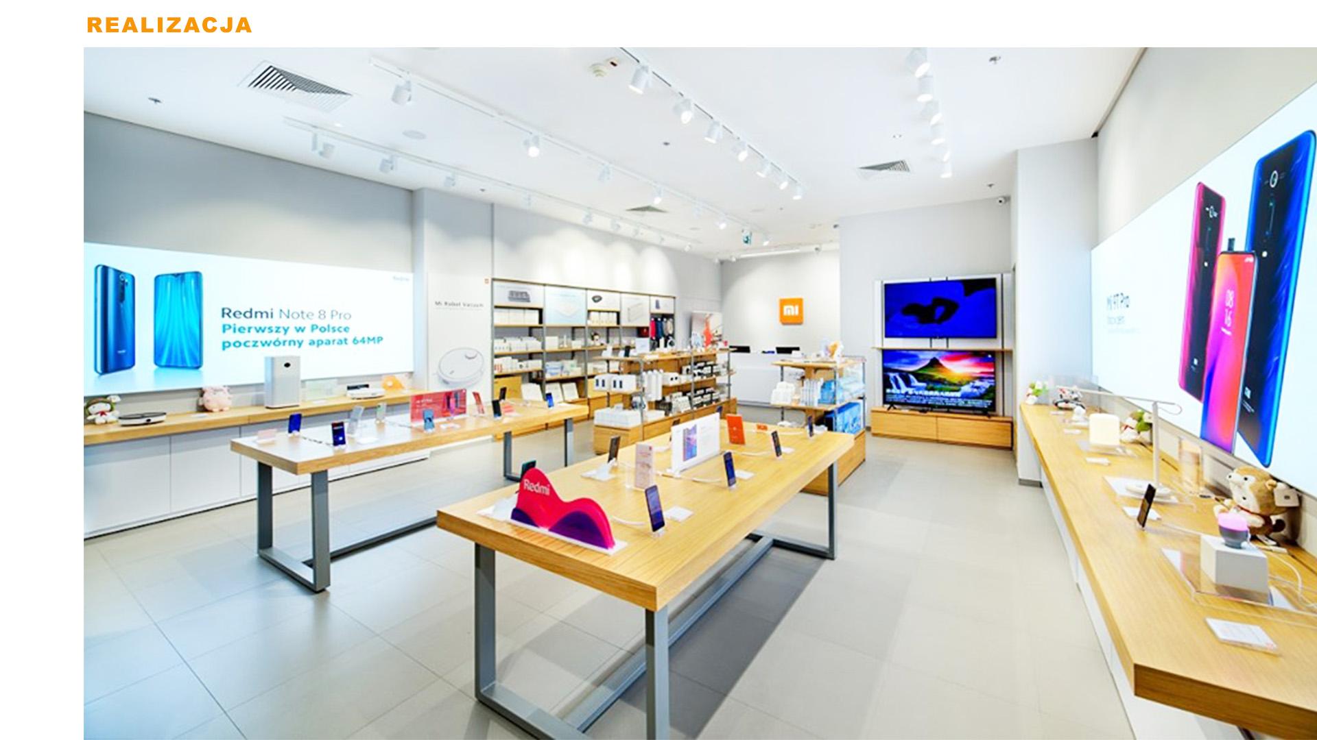 Mi-Store - Lublin - Centrum Plaza - realizacja