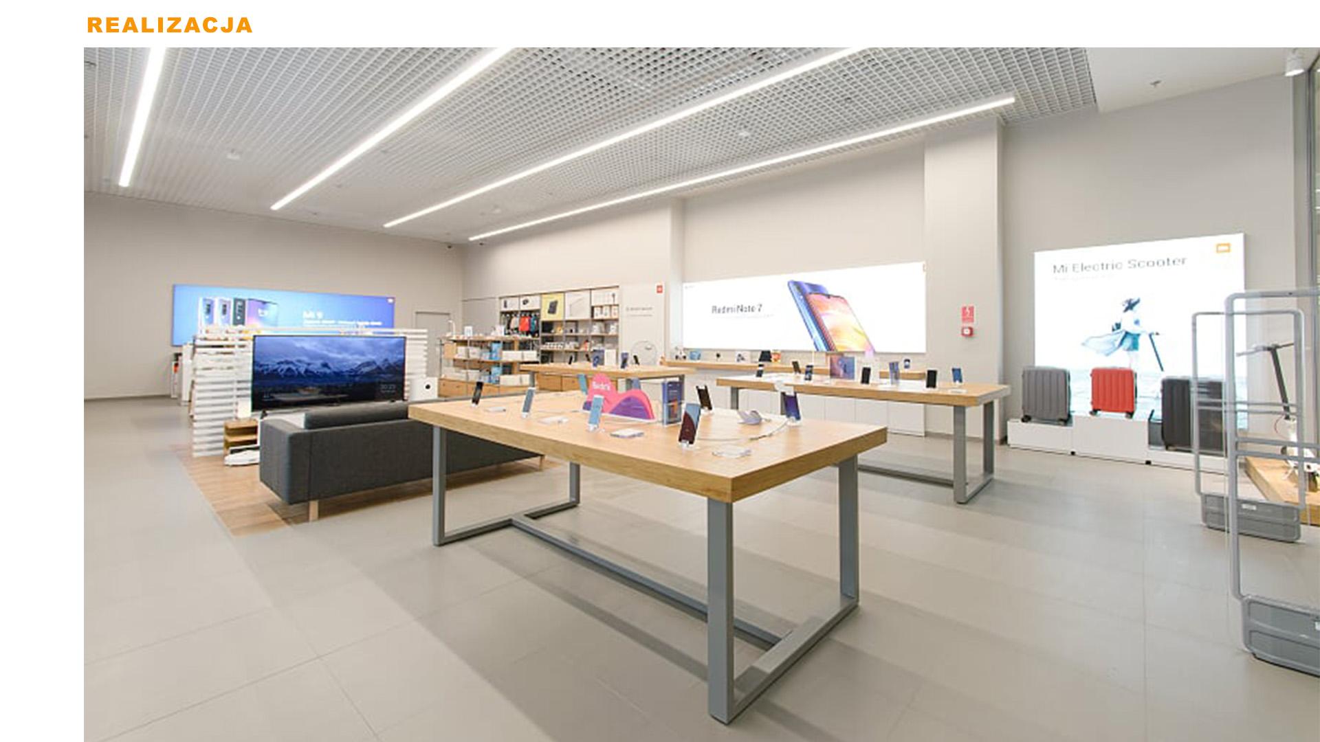 Mi-Store - Warszawa - Galeria Młociny - realizacja