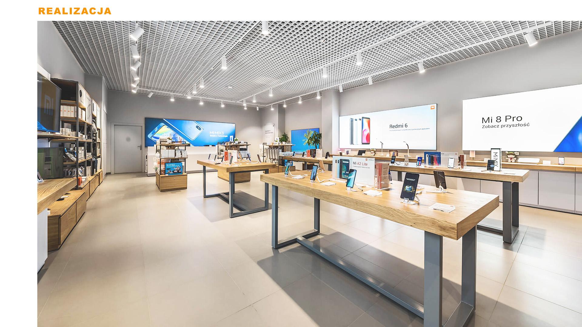 Mi-Store - Gdynia - Centrum Riviera - realizacja