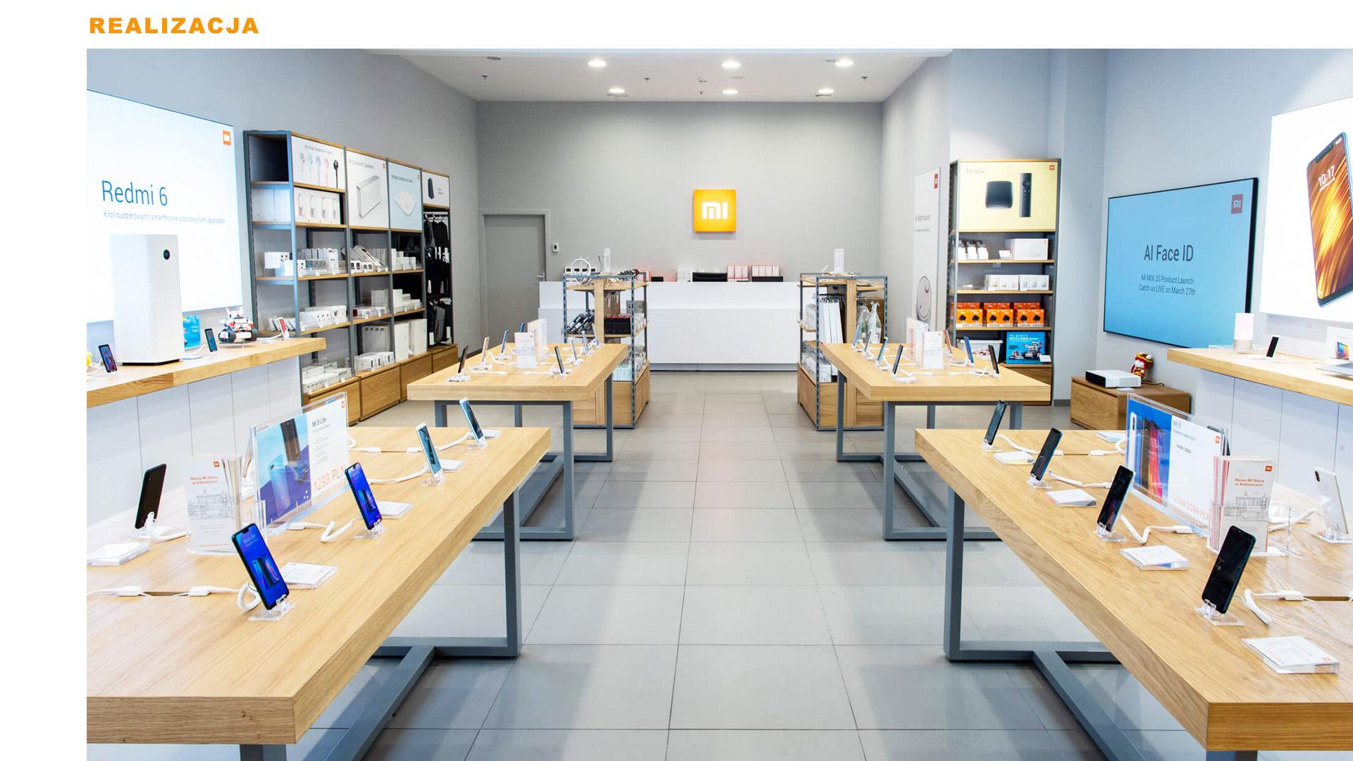 Mi-Store - Katowice - Galeria Katowicka - realizacja