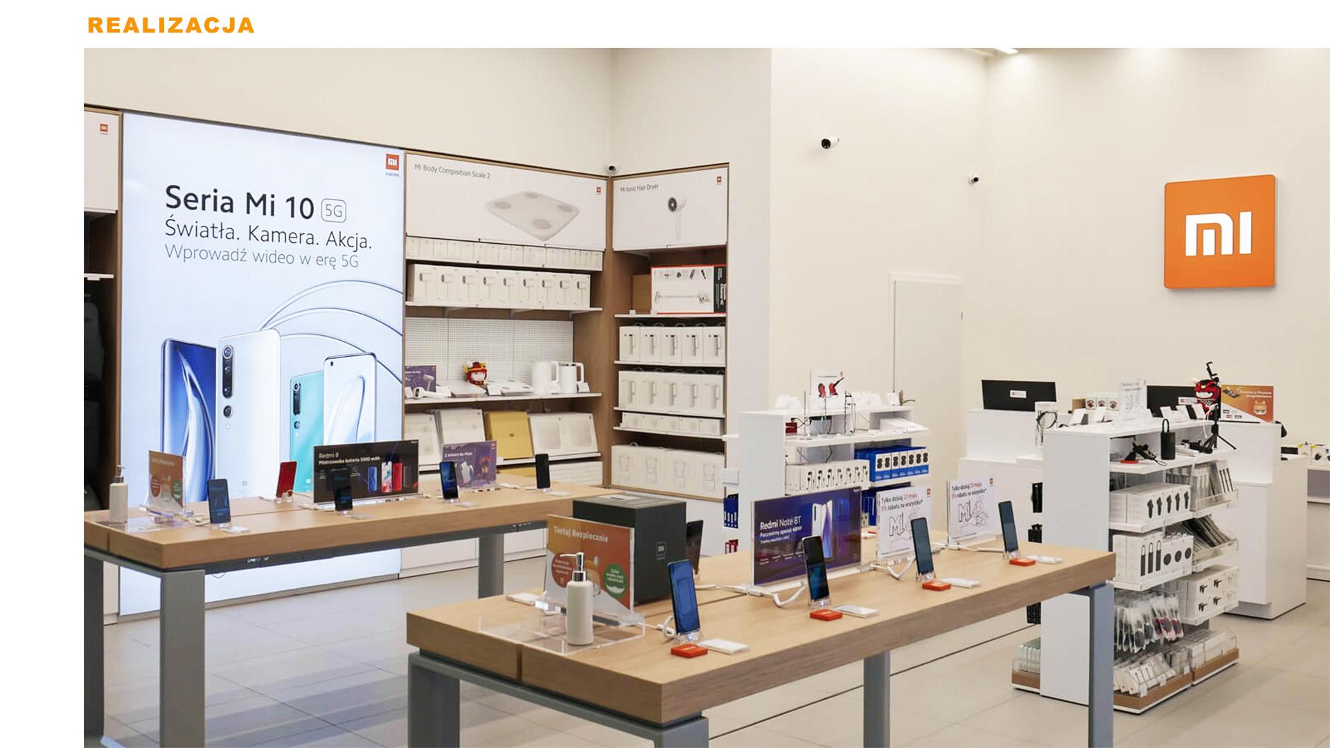 Mi-Store - Czeladź - Centrum Handlowe m1 - realizacja