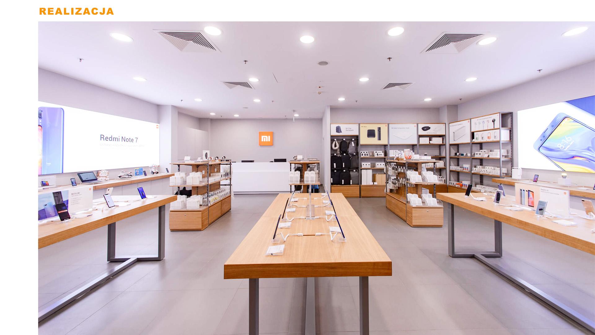 Mi-Store - Kraków - Galeria Krakowska - realizacja