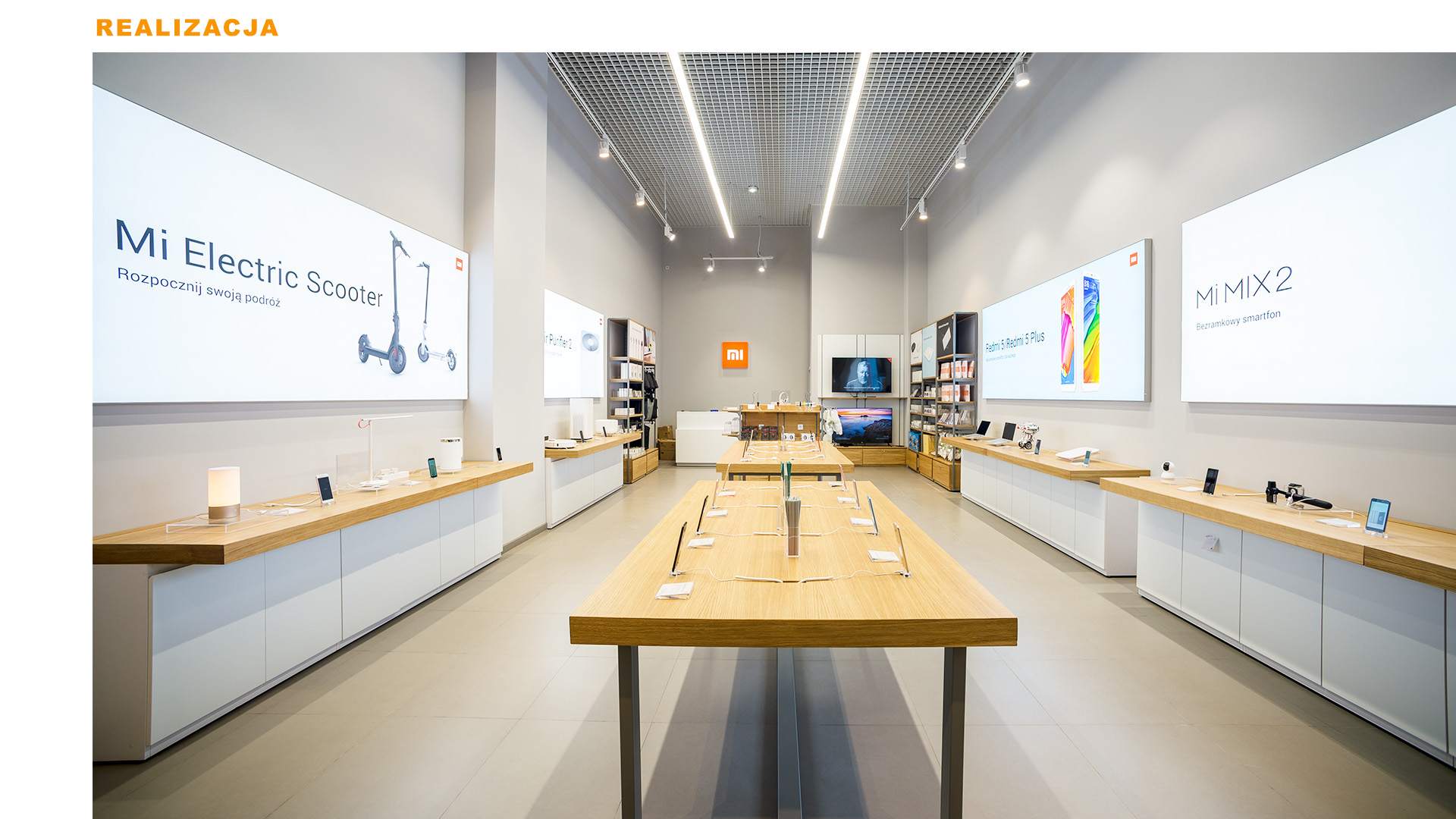 Mi-Store - Kraków - Centrum Handlowe - Serenada - realizacja